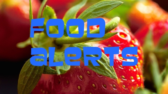 RASFF Food Alerts, Week 13