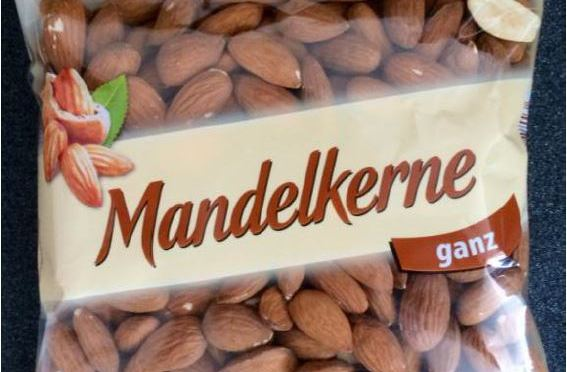 Lidl Recalls Almonds